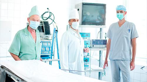 Лапароскопическая хирургия в урологии